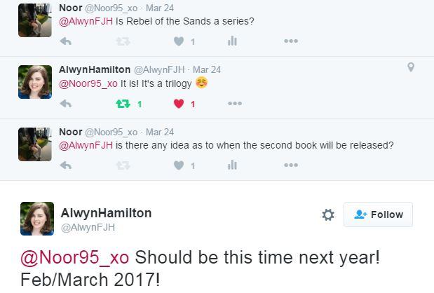 Alwyn Hamilton -Twitter